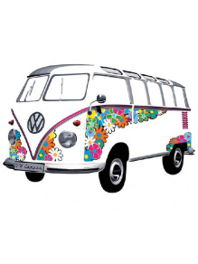 Fototapeta na ścianę - VW Collection Bulli  Samba Flower