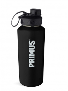 Butelka na wodę TrailBottle Stainless Steel 0.6 l Black - Primus