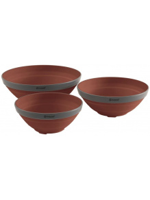 Miski składane Collaps Bowl Set Terracotta - Outwell