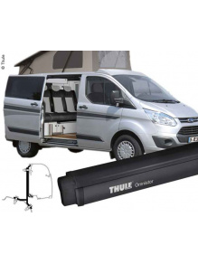 Markiza ścienna Omnistor 4900 Anthracite 2.60 Mystic Grey + Ford Custom Adapter - Thule